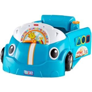 รถหัดขับพร้อมเรียนรู้ Fisher-Price Laugh & Learn Crawl Around Car สีฟ้า
