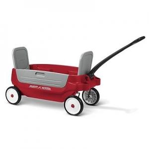รถวาก้อน หรือ รถเข็นสี่ล้อทรีอินวัน Radio Flyer Grandstand Wagon 3 in 1 ใช้นั่งแทนเก้าอี้ หรือ บรรทุกได้ทั้งเด็กและขนสัมภาระ ออกใหม่ล่าสุด