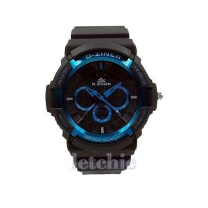นาฬิกา D-Ziner Sport watch รุ่น DZ-8019 นาฬิกาข้อมือ unisex สีฟ้า ของแท้ รับประกันศูนย์ 1 ปี ราคาพิเศษ ราคาถูกที่สุด