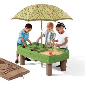 โต๊ะเล่นน้ำและทราย Step2 Naturally Playful Sand & Water Activity Center ขนาดใหญ่ที่สุด