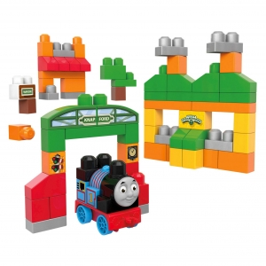 ตัวต่อรถไฟโทมัส Mega Bloks Thomas & Friends Sodor Adventures Building Set