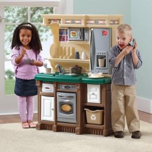 ครัวในฝันของเด็กๆ Step2 LifeStyle Custom Kitchen II, Brown/Tan/Green