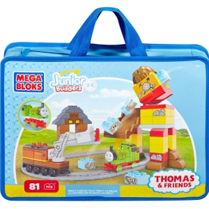 ตัวต่อรถไฟ Mega Bloks Thomas & Friends Percy Brave Tale