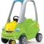 รถขาไถ และ รถผลักเดิน Step2 Easy Turn Coupe สีเขียว ยอดฮิต