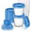 ถ้วยเก็บนม Philips AVENT Breast Milk Storage Cups, 6 Ounce (Pack of 10)