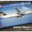 1/144 Airbus A320 Lufthansa จาก Rewell (RE04267)