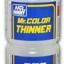 T-103 MR.COLOR THINNER 250 ml. ทินเนอร์อ่อนๆ สำหรับผสมสีทำโมเดล