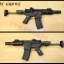 ปืนระบบแก๊สโบลว์แบ็ค R5C WE ไม่ยิงลาย สวยงามมาก (เอาไปเลือกลายเฉพาะตัวเองแล้วจ้างยิงเลยครับ)