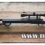 ปืนอัดลมเบาแบบชักยิงทีล่ะนัด รุ่น M24 Snow Wolf ครบชุด สีดำ ระบบแก๊ส