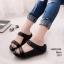 รองเท้าเพื่อสุขภาพสไตล์ ฟิบฟลอบ พื้นนิ่มแน่นแบบสวย