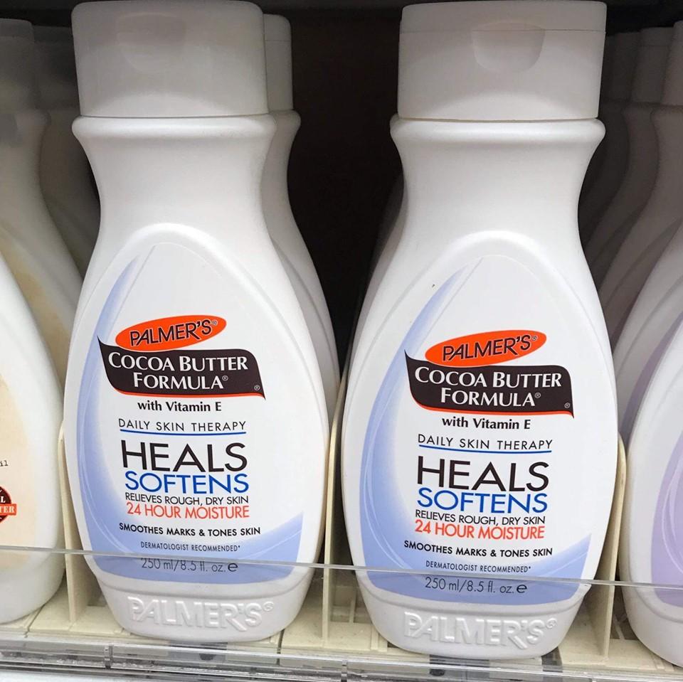 �ล�าร���หารู��า�สำหรั� Palmer's Cocoa Butter Formula With Vitamin E Heals softens