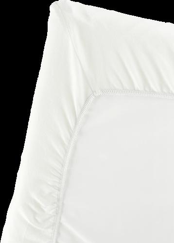 BABYBJORN Fitted Sheet for Travel Crib Light Organic White