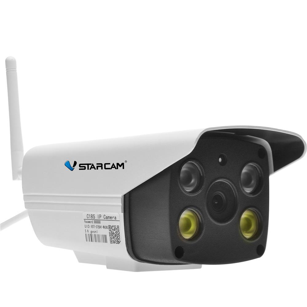 VSTARCAM C18S 1080P Outdoor IP Camera กล้องวงจรปิด 2 0ล้านพิกเซล