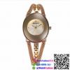 นาฬิกาข้อมือแฟชั่นนำเข้า ผู้หญิง WEIQIN สีทอง หน้าทอง กันน้ำ + ของแท้