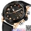นาฬิกาข้อมือแฟชั่นนำเข้า ผู้ชาย NAVIFORCE สองระบบ แบบที่ 1 มาดแมน แนวสปอร์ต สายหนังผสม กันน้ำ