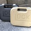 กล่องใส่ปืน glock ทำจาก ABS วัสดุเนื้อเหนียว