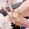 นาฬิกาข้อมือแฟชั่นนำเข้า ผู้หญิง GEDI สีทอง กันน้ำ + ของแท้