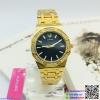 นาฬิกาข้อมือแฟชั่นนำเข้า ผู้หญิง JUNJIA สีโกล กันน้ำ + ของแท้