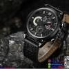 นาฬิกาข้อมือแฟชั่นนำเข้า ผู้ชาย NAVIFORCE เทห์ ดุดัน แนวสปอร์ต สายหนังผสม กันน้ำ