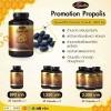auswelllife propolis อาหารเสริมรักษาสิว ต้านหวัด ต้านภูมิแพ้ ขนาด 60 แคปซูล