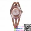นาฬิกาข้อมือแฟชั่นนำเข้า ผู้หญิง WEIQIN สีโรส กันน้ำ + ของแท้