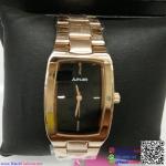 นาฬิกาข้อมือแฟชั่นนำเข้า ผู้หญิง JUNJIA สีโรสโกล กันน้ำ + ของแท้