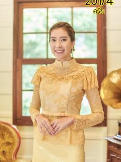 เสื้อไทยรัชกาลที่5 สีครีม