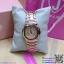 นาฬิกาข้อมือแฟชั่นนำเข้า ผู้หญิง JUNJIA ROSE GOLD กันน้ำ + ของแท้