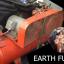เครื่องปั้มลม EARTH FUJI เก่าญี่ปุ่น 10 แรง