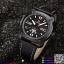 นาฬิกาข้อมือแฟชั่นนำเข้า ผู้ชาย NAVIFORCE สีดำ สายดำ เทห์ มีสไตล์ แนว สปอร์ต กันน้ำ + ของแท้ + ประกัน