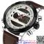 นาฬิกาข้อมือแฟชั่นนำเข้า ผู้ชาย NAVIFORCE สองระบบ แบบที่ 4 มาดแมน แนวสปอร์ต สายหนังผสม กันน้ำ
