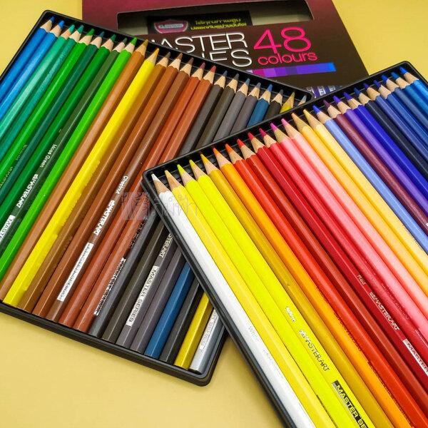 รูปภาพสินค้า สีไม้หัวเดียว 48 สี Master Art รุ่น Master Series